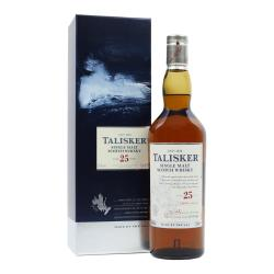 JANUARY SALE - Talisker 25 Year Old - 70cl 45.8%
