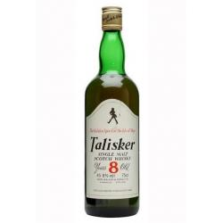 Talisker 8 Year Old 1980s Single Malt Scotch Whisky - 75cl 45.8%