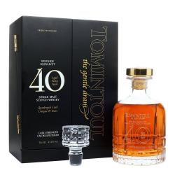 Tomintoul 40yo Quadruple Cask - 43.3% 70cl