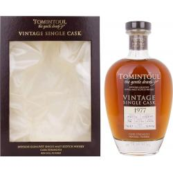 Tomintoul 38yo 1977 Single Cask - 54.9% 70cl