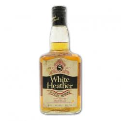 White Heather 5 Year Old Blended Scotch Whisky - 75cl 43%