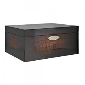 ST Dupont - Croco Dandy Brown Humidor - 75 Capacity