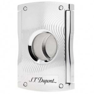 ST Dupont Cigar Cutter - Maxijet - Chrome Max Vibrations Wave