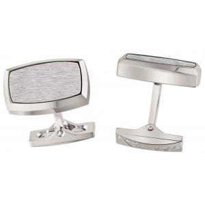 ST Dupont Brushed Palladium Cufflinks