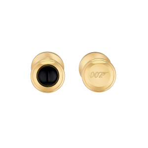 ST Dupont Limited Edition - James Bond 007 - Yellow Gold & Black Onyx Cufflinks