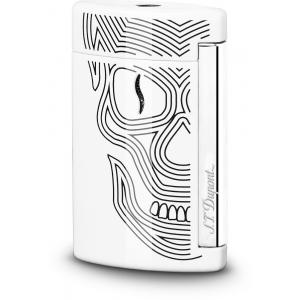 ST Dupont Lighter – Minijet – White Skulls