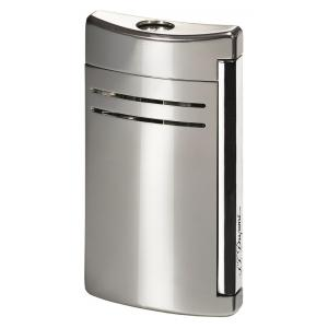 ST Dupont Lighter – Maxijet – Chrome Grey - Glossy Metal