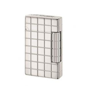 ST Dupont Initial Lighter - Square White Bronze