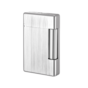 ST Dupont Initial Lighter - Brushed White Bronze