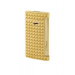 ST Dupont Slim 7 – Torch Flame Lighter - Gold Fire Head