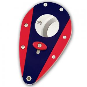 Xikar Cigar Cutter - Twin Colour - Navy and Red