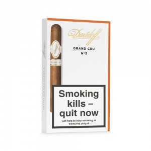 Davidoff Grand Cru No. 3 Cigar - Pack of 5