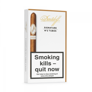 Davidoff Signature Tubos No. 2 Cigar - Pack of 4