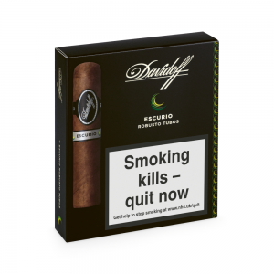 Davidoff Escurio Robusto Tubos Cigar - Pack of 4