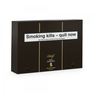 Davidoff Winston Churchill The Late Hour Robusto Cigar - Box of 20