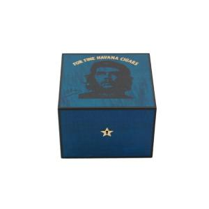 Elie Bleu Che Collection Robusto Blue  Humidor - 25 Cigar Capacity