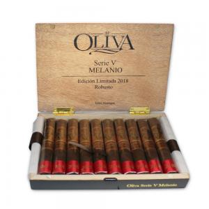 Oliva Serie V Melanio Robusto Cigar - Limited Edition 2018 - Box of 10 (End of Line)