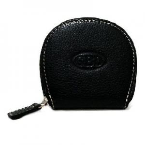 GBD Leather Coin Purse - Black