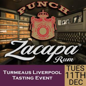 Turmeaus Liverpool Whisky & Cigar Tasting Event - 11/12/18