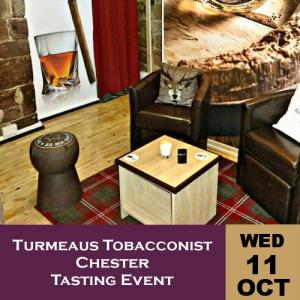 Turmeaus Chester Whisky & Cigar Tasting Event - 11/10/17