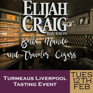 Turmeaus Liverpool Cigar and Whisky Tasting Event 12/02/19