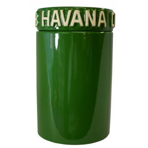 Havana Club - Tinaja Humidor - Bottle Green
