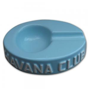 Havana Club Collection Ashtray – Egoista Single Cigar Ashtray – Caribbean Blue
