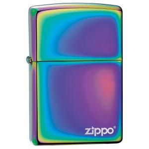 Zippo Regular Lighter with Logo - Spectrum
