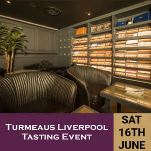 Turmeaus Liverpool Whisky & Cigar Tasting Event - 16/6/18