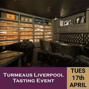Turmeaus Liverpool Whisky & Cigar Tasting Event - 17/04/18