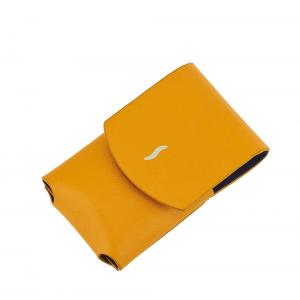 ST Dupont Minijet Leather Lighter Case - Yellow