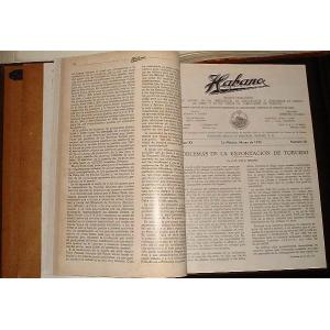1945 Compilation Yearbook of Habano Magazine