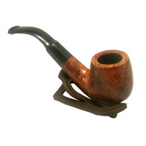 Viking Classic Waxed Smooth Bent Billiard Pipe