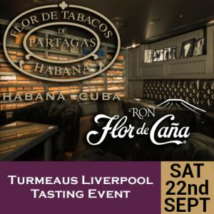 Turmeaus Liverpool Whisky & Cigar Tasting Event - 22/9/18