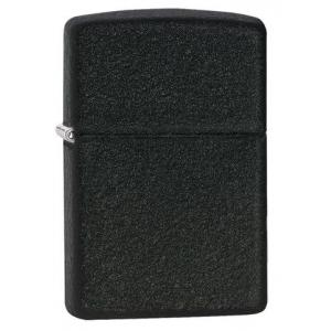 Zippo - Classic Black Crackle -  Windproof Lighter