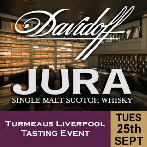 Turmeaus Liverpool Whisky & Cigar Tasting Event - 25/9/18