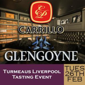 Turmeaus Liverpool Cigar and Whisky Tasting Event 26/02/19