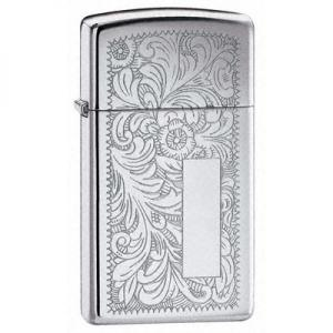 Zippo Slim Lighter Ventian - Chrome