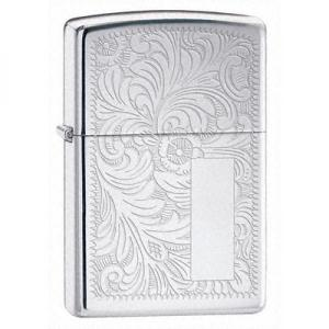 Zippo Regular Ventian Lighter - Chrome