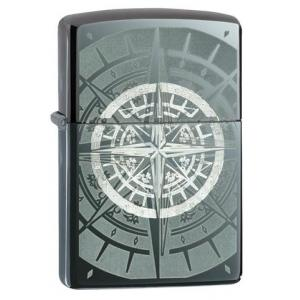 Zippo - Black Ice Compass - Windproof Lighter