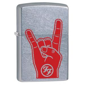 Zippo - Street Chrome Foo Fighters - Windproof Lighter