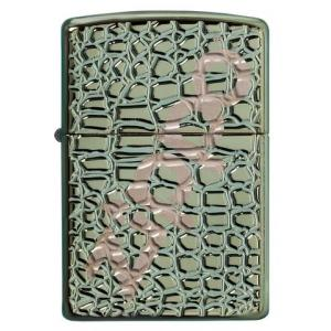 Zippo - Armor Chameleon Alligator - Windproof Lighter