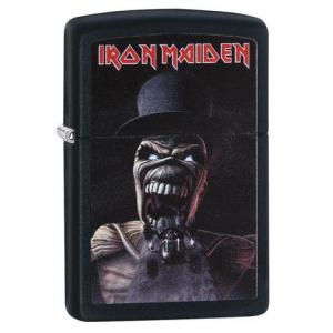 Zippo - Matte Black Iron Maiden Wildest Dreams - Windproof Lighter