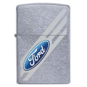 Zippo - Street Chrome Ford Logo - Windproof Lighter