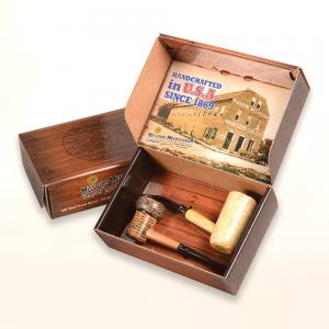 Corn Cob 2 Pipe Gift Set - American Assortment