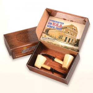 Corn Cob 2 Pipe Gift Set - Mark Twain