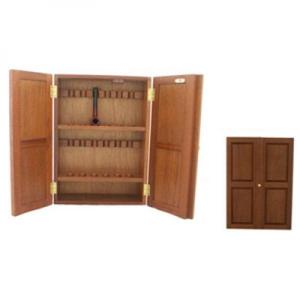 English Made Pipe Cabinet - Holds 12 Pipes