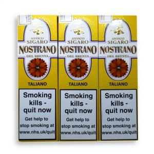 ADDED VALUE - Nostrano del Brenta Sigaro Taliano Cigar - 3 Packs of 3