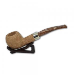 Peterson 2018 Summertime Rustic Bent 408 Fishtail 9mm Filter Pipe (PE438)