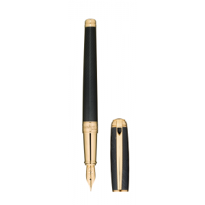 ST Dupont Limited Edition - James Bond 007 - Black & Yellow Gold Fountain Pen